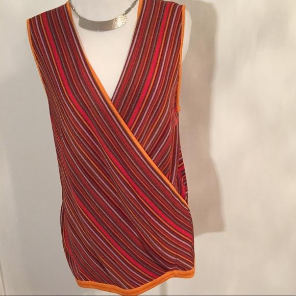f0974d3d3e Linda Allard Ellen Tracy Sleeveless Silk Sweater
